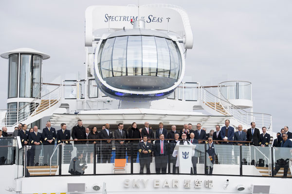 Royal Caribbean Welcomes Spectrum to the Family