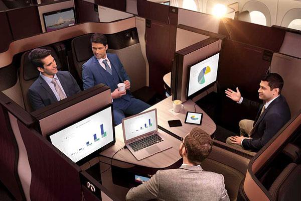 Qatar Airways' Qsuite Takes Flight in Montreal