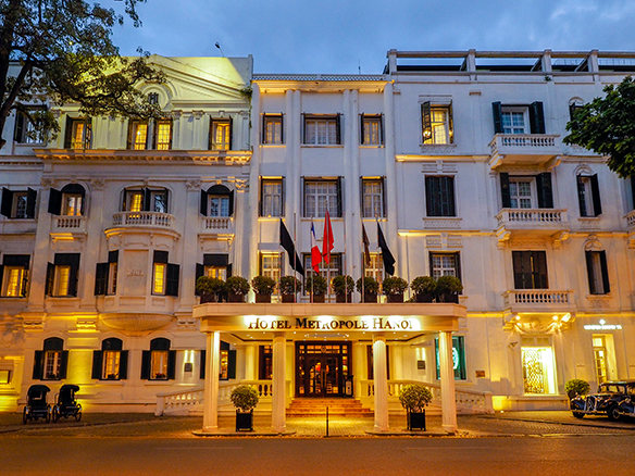 Guests get royal treatment at Sofitel  Legend Metropole