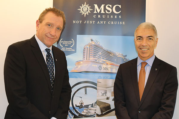 MSC Flips The Switch On New Canadian Office - TravelPress