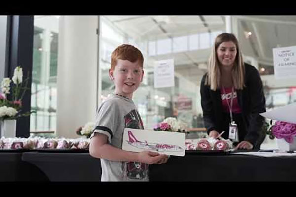 Swoop Celebrates One-Millionth Passenger