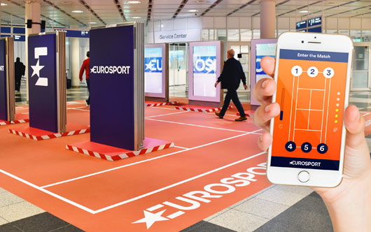 Booming serve at Munich Airport