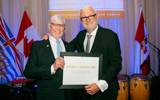 CN chairman honoured