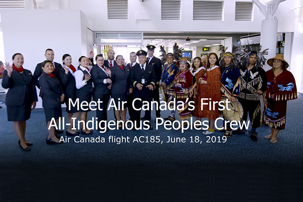 Air Canada Salutes Its Indigenous Employees