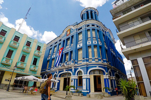Camaguey is a showplace for Cuba's past
