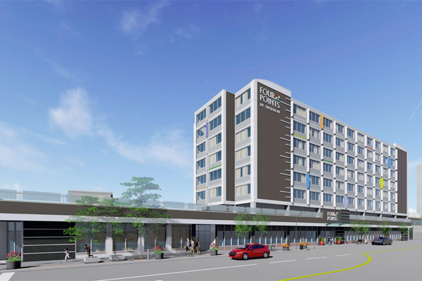 Four Points by Sheraton Opens In Windsor