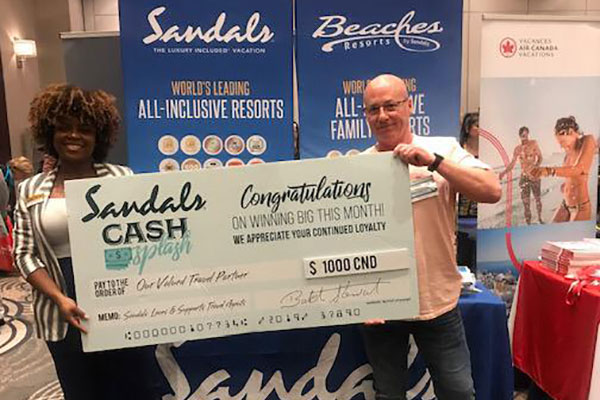 Ottawa Travel Agent Wins With Sandals