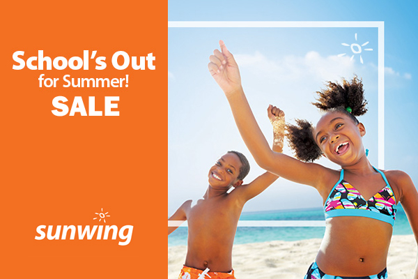 School's Out With Sunwing