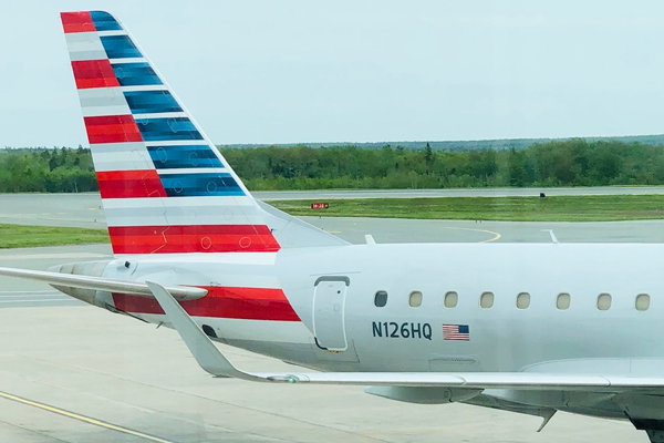 Halifax Welcomes Back American Airlines