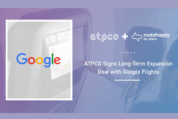 ATPCO Expands Deal With Google Flights