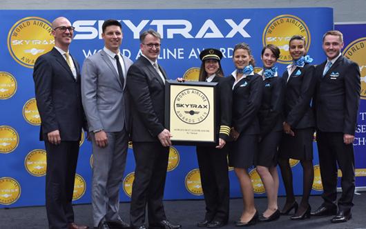 Air Transat Earns Skytrax Honours