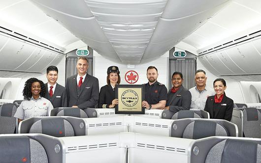 Air Canada Tops Skytrax Awards