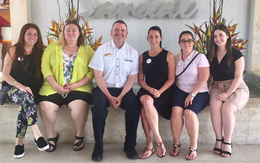Sandals Hosts ACV Groups Department in Jamaica