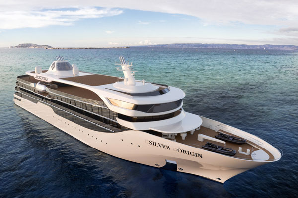 Silversea Set to Open Sales for New Silver Origin
