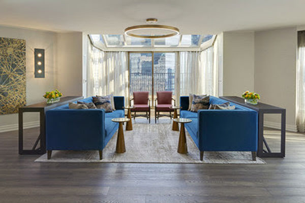 InterContinental Toronto Remodels Presidential Suite