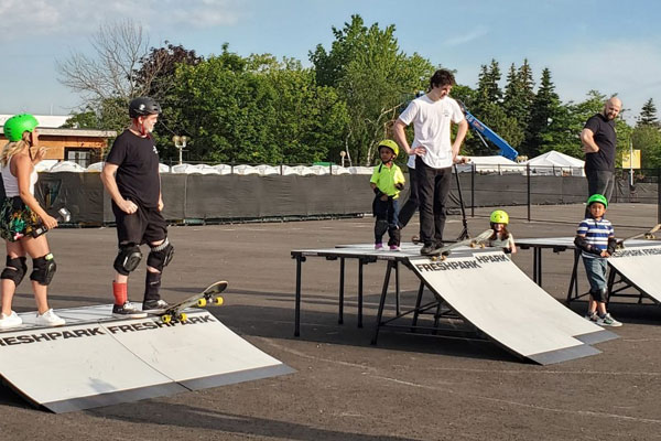 Ontario Place Opens New Skate Park, Basketball Courts