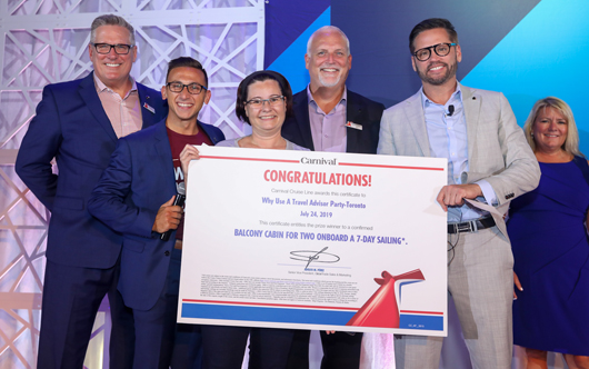 Nexion Canada agent wins Carnival cruise