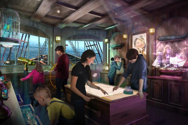 Princess Introduces Phantom Bridge Escape Room