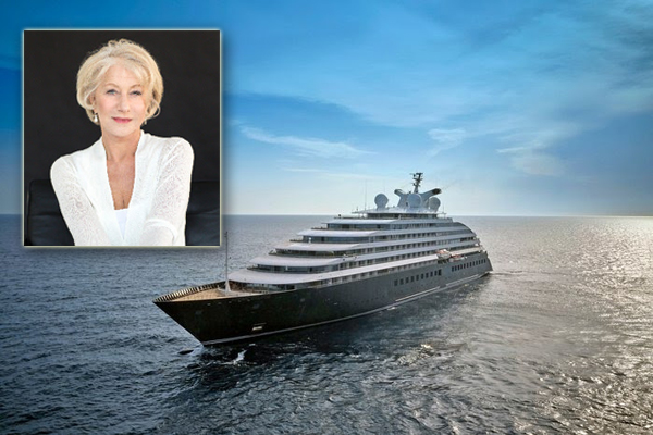 Helen Mirren Named Godmother of Scenic Eclipse