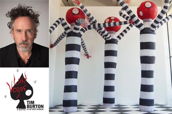 Lost Vegas: Burton Exhibition Coming to Neon Museum