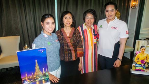 Thai sisters raise Thailand's golf profile