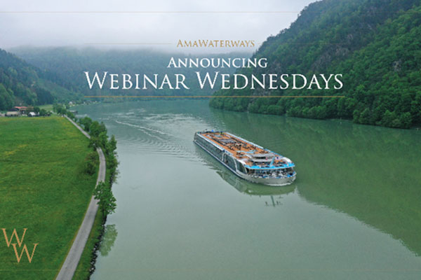 AmaWaterways Launches Agent Webinar Series