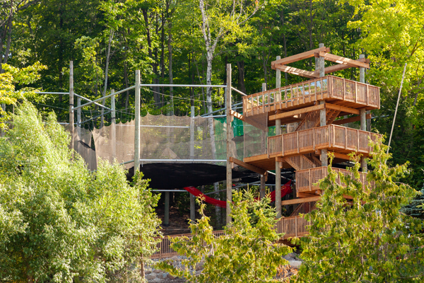 Blue Mountain Opens 'Ultimate Tree Fort'