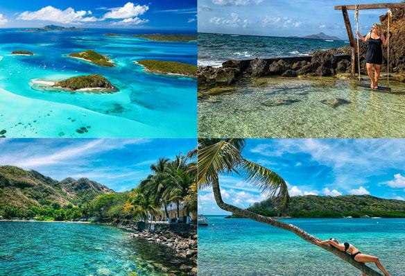 An island hopping honeymoon awaits