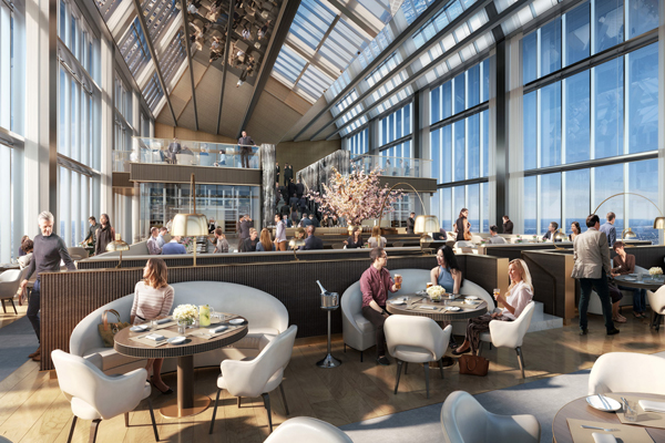 Four Seasons Opens in Philadelphia's Comcast Center