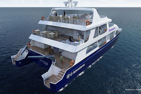 G Adventures Introduces New Galápagos Yacht