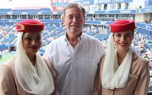 Emirates Day at the Rogers Cup