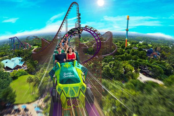 Big Thrills At SeaWorld, Busch Gardens