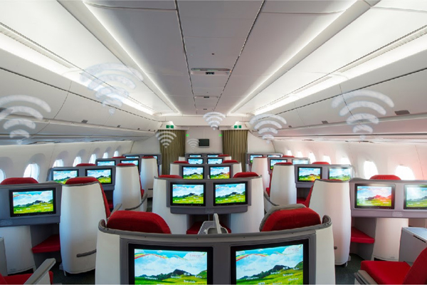 Stay connected with Ethiopian Airlines