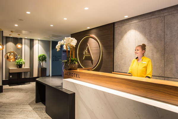 Aerotel Hotel Opens at Heathrow's Terminal 3