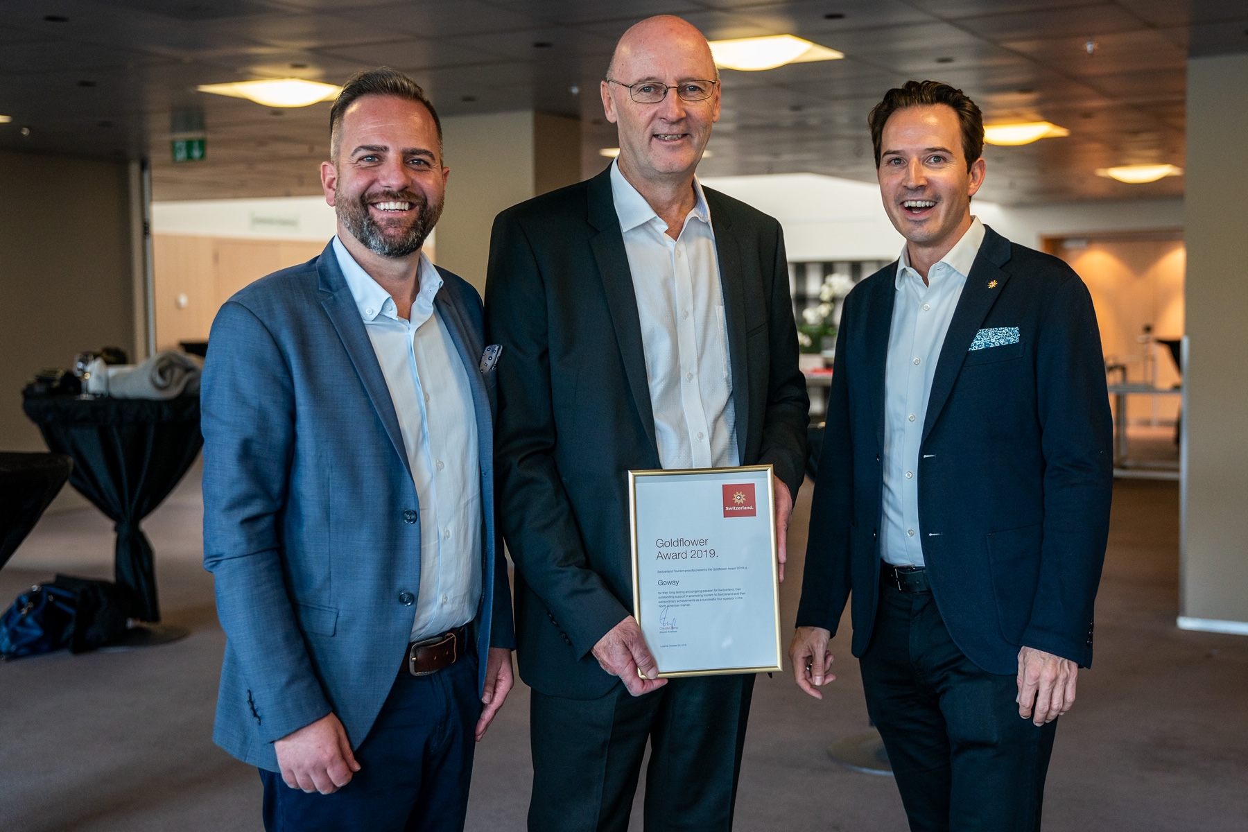 Goway Recognized At Switzerland Travel Mart