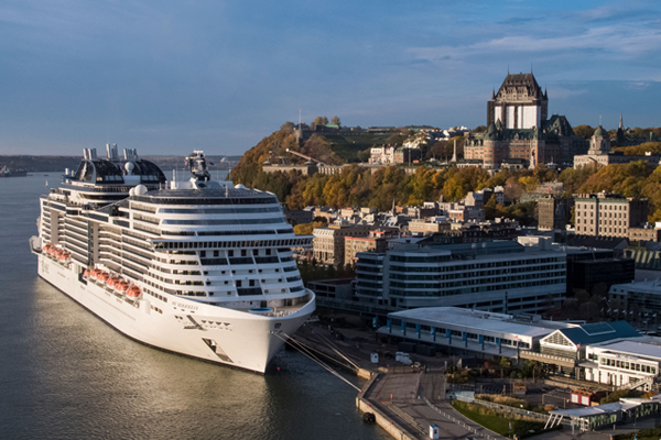 MSC Meraviglia Makes Its Canadian Debut