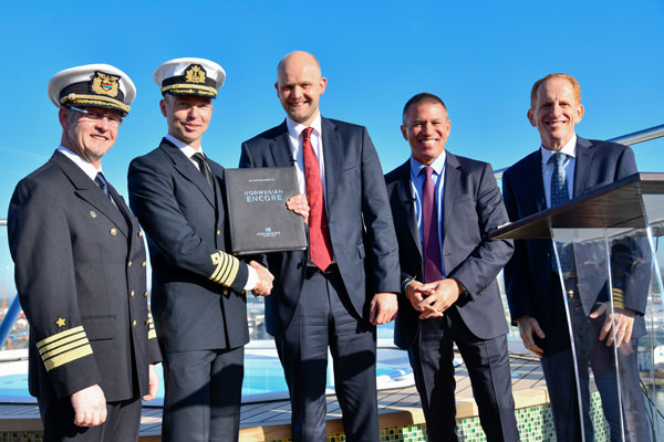 NCL Takes Delivery of Norwegian Encore