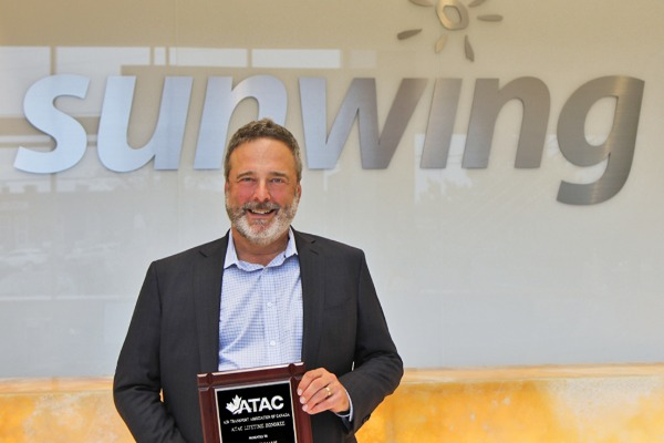 Sunwing Airlines President Honoured