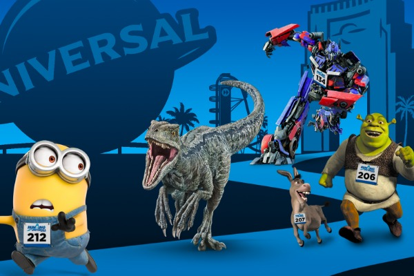 Universal's Epic Character Race Set For Feb. 1-2