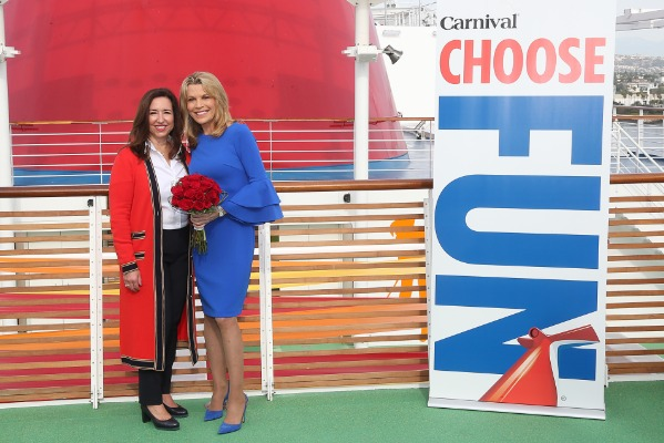 Carnival Panorama Officially Named by Vanna White