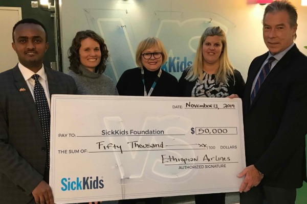 SickKids Takes Off With Ethiopian Airlines