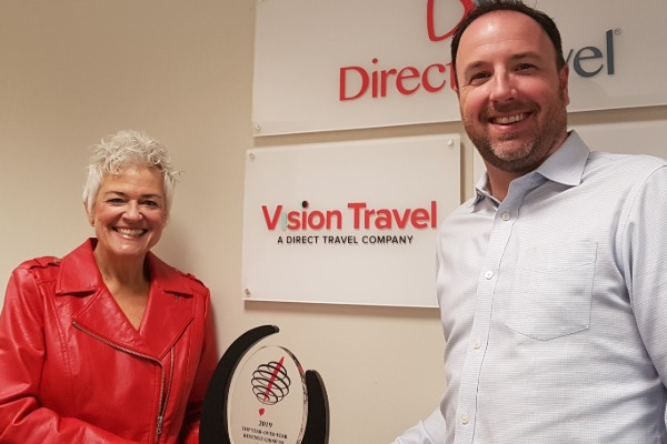 Vision Travel Celebrates Virtuoso Win