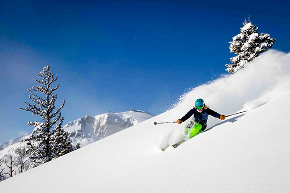Lofty Jackson Hole has slopes for all levels of skiers