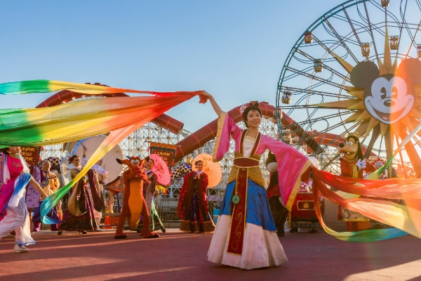Disneyland Welcomes the Year of the Mouse