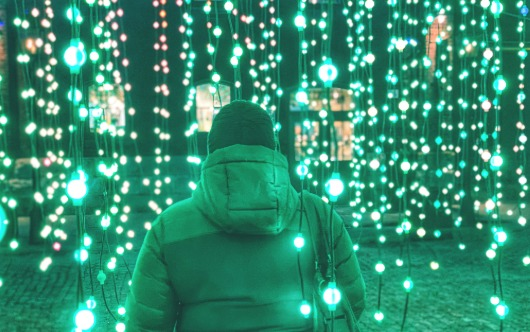 The Toronto Light Festival shines a light on Distillery District