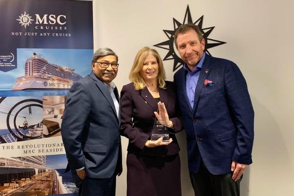 Sunwing MSC's Partner of the Year