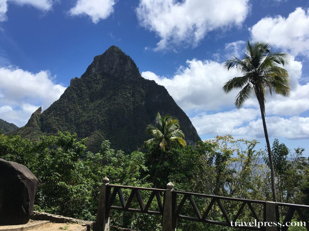 St Lucia, Mountains