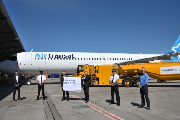 A First For Air Transat