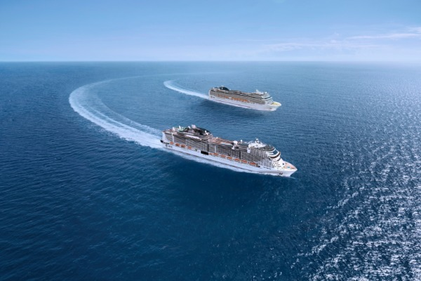 MSC Is Back In The Med