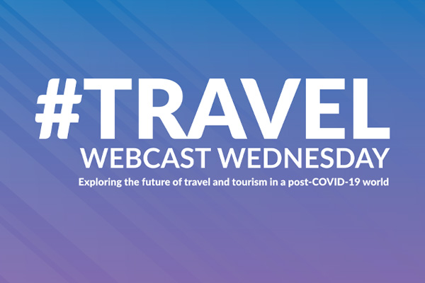 It's #TravelWebcastWednesday